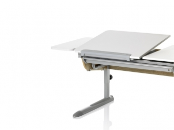 Kettler Seitenplatte Weiß für Schreibtisch Logo Duo II