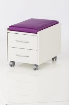 Sitzkissen - Softex lila - für Sit on und Logo Trio Box