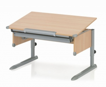Kettler Schreibtisch College Box II - Buche / Silber