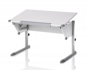Kettler Schreibtisch Cool Top II - Weiß /Silber